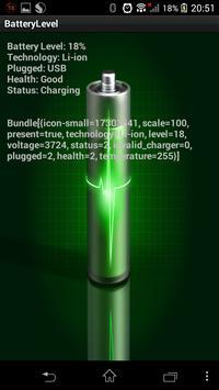 BatteryLevel apk screenshot