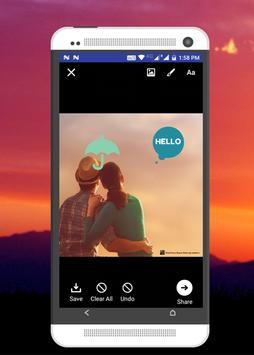 TextPic Maker - फोटो पे  शायरी, विचार लिखे screenshot 7