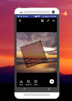 TextPic Maker - फोटो पे  शायरी, विचार लिखे screenshot 4