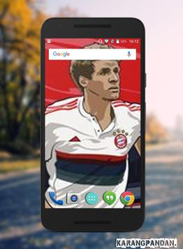 Thomas Muller Wallpapers HD screenshot 3