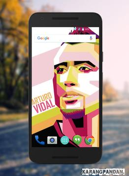 Arturo Vidal Wallpaper screenshot 4