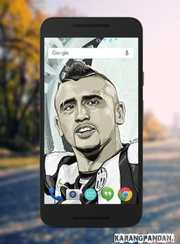 Arturo Vidal Wallpaper screenshot 6