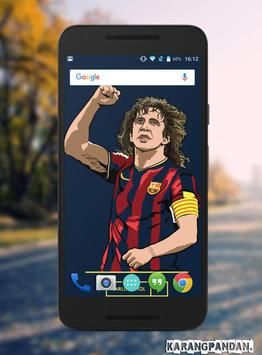 Carles Puyol Wallpapers Hd screenshot 3