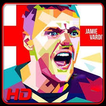 Jamie Vardy Wallpapers HD poster