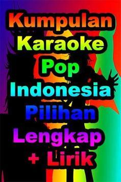 Karaoke Pop Indonesia Populer poster