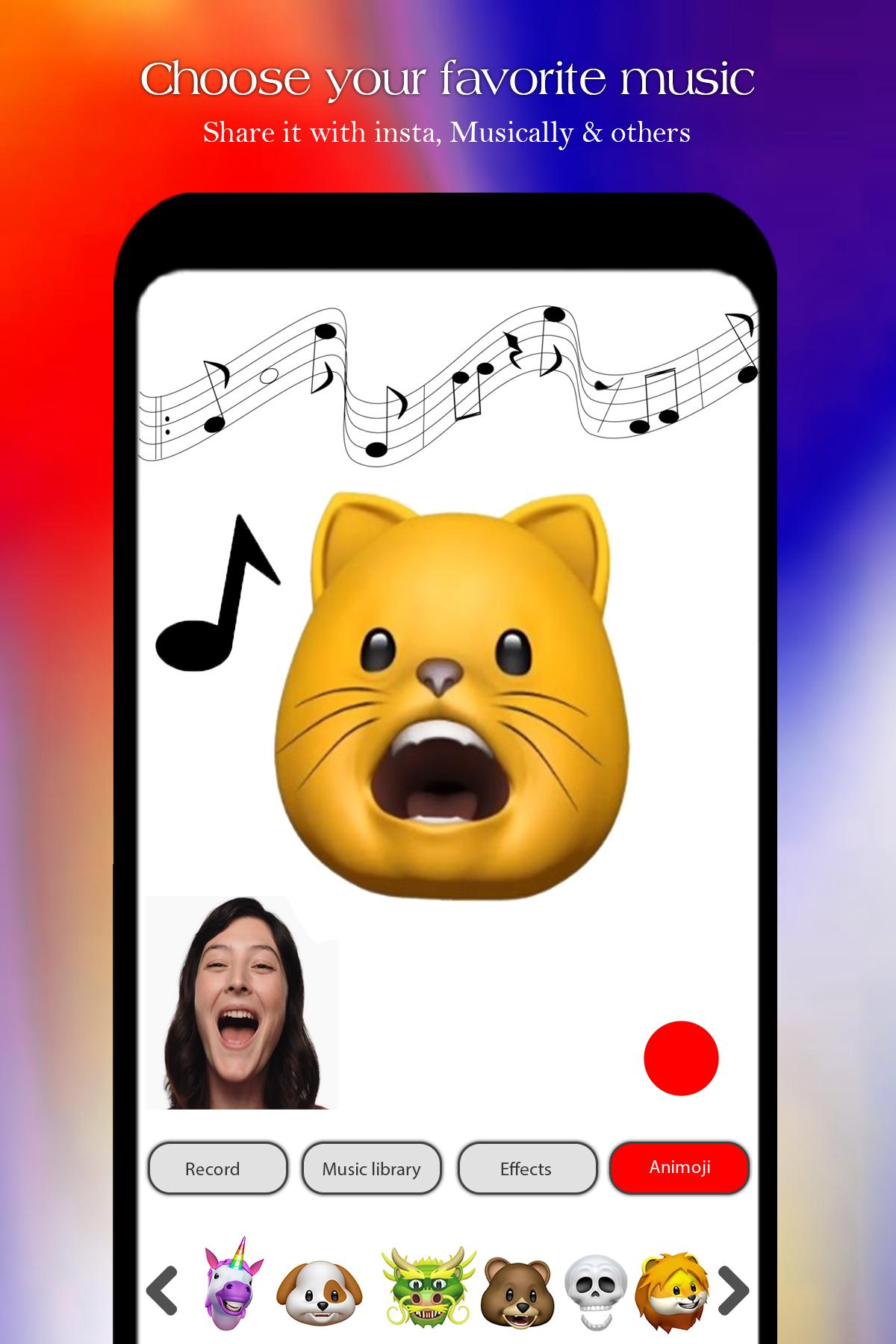 Free Animojis Karaoke & emojis 2018 for Android - APK Download