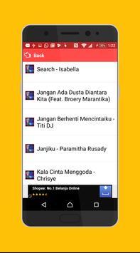 Lirik dan  Lagu Lawas Populer screenshot 1