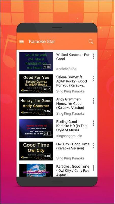 Karaoke Star Maker For Android Apk Download