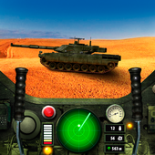 Tank Battle. Simulator icon
