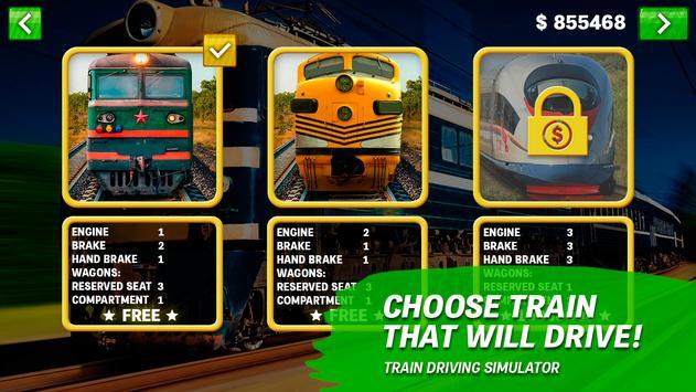 Train driving simulator screenshot 1