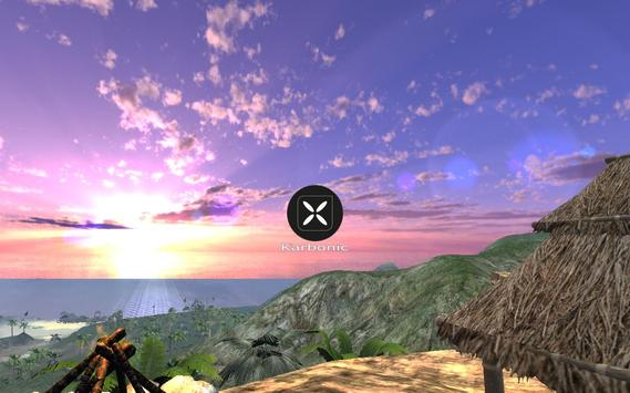 Karbonic Holiday Island screenshot 1