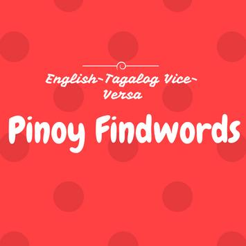 Pinoy Findwords English-Tagalog ViceVersa poster