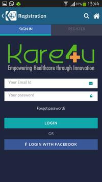 Kare4U, Healthcare On the Go poster