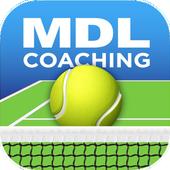 MDL Coaching Tennis App icon