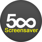 500px Screensaver icon