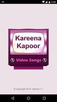 Kareena Kapoor Video Songs poster
