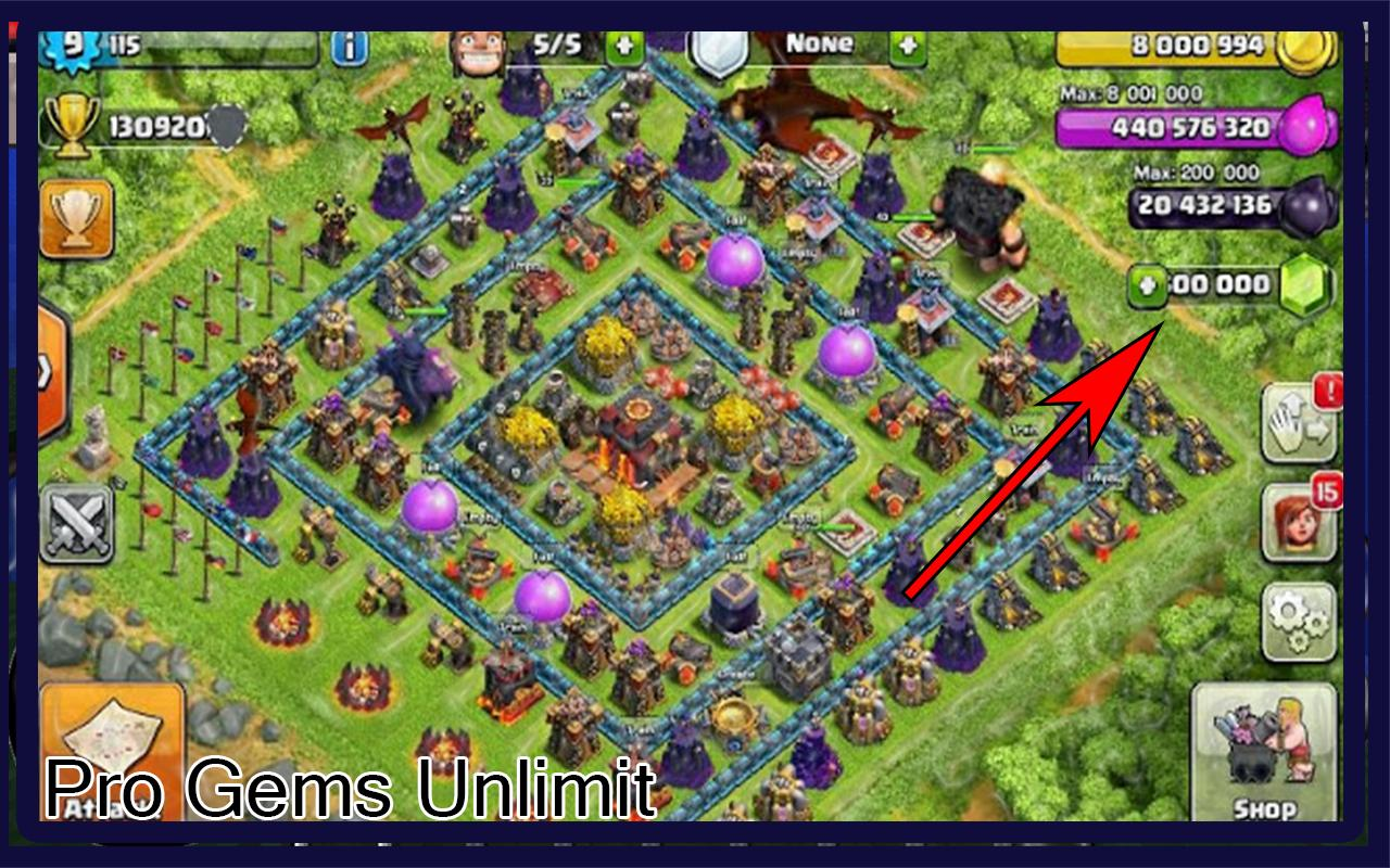 how to get gems in clash of clans android