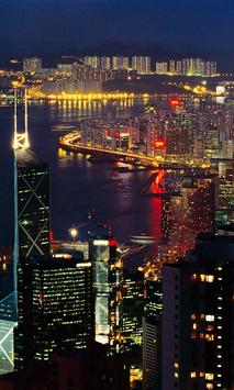 Hong Kong Live Wallpaper pt screenshot 5