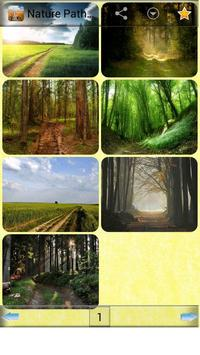 Nature Path wallpapers poster