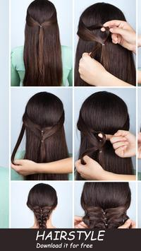 ‍nice hairstyle step by step screenshot 1
