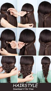 ‍nice hairstyle step by step screenshot 2