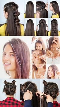 ‍nice hairstyle step by step screenshot 3