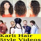 karli Hair Style Videos icon