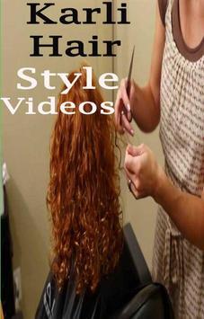 karli Hair Style Videos screenshot 1