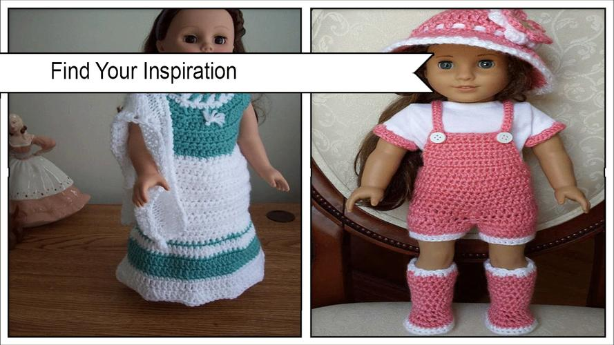 Adorable Crochet Doll Clothing Patterns for Android - APK Download