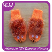 Adorable DIY Sweater Mittens icon