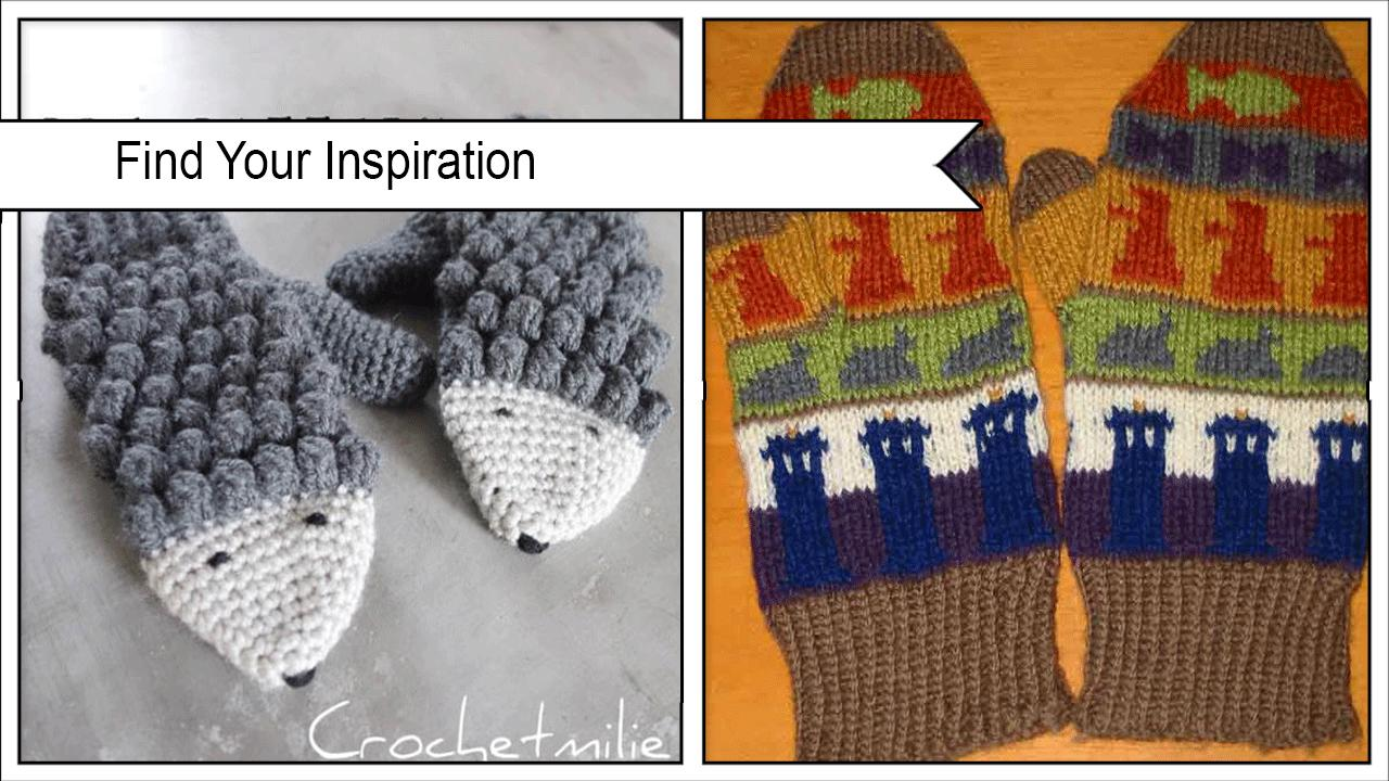 Adorable DIY Sweater Mittens poster