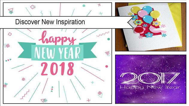 Amazing New Year Greeting Cards poster