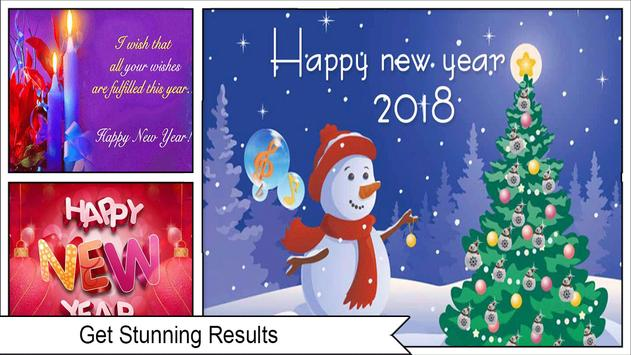 Amazing New Year Greeting Cards apk screenshot