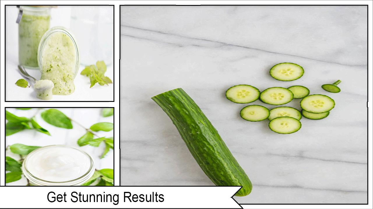 Best DIY Cucumber Lotion poster