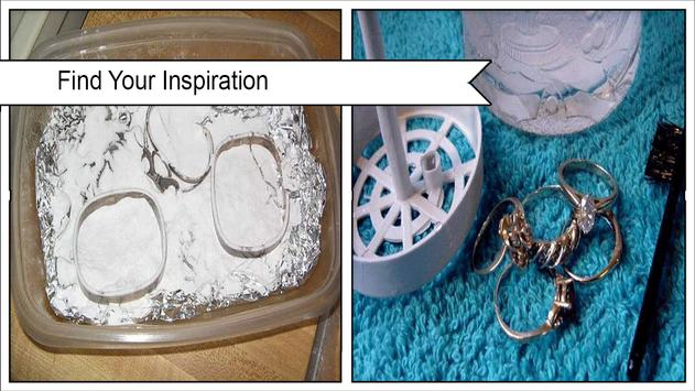 Easy DIY Jewelry Cleaner poster
