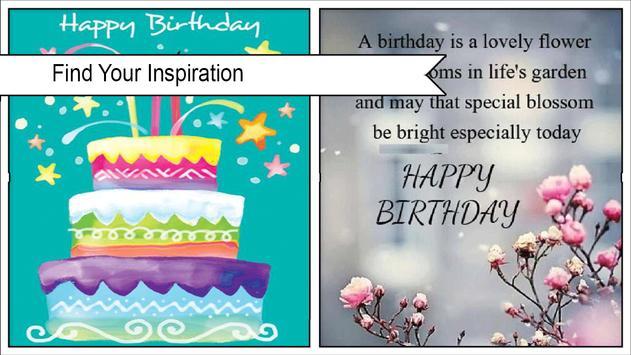 Happy Birthday Quotes poster