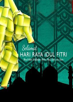 Greeting Card Idul Fitri Poster