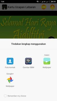 Kartu Ucapan Lebaran apk screenshot