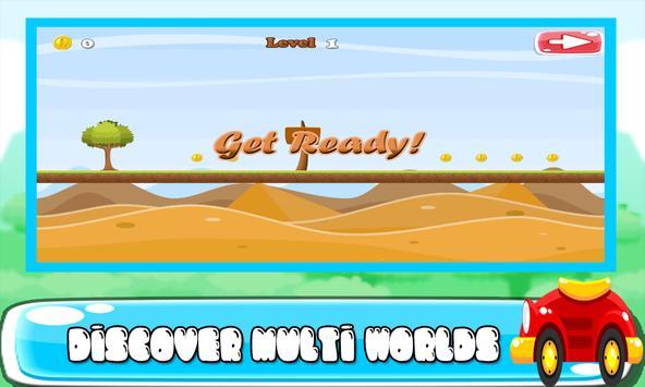 Finn and kart adventure apk screenshot