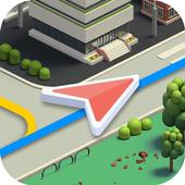 Karta GPS icon