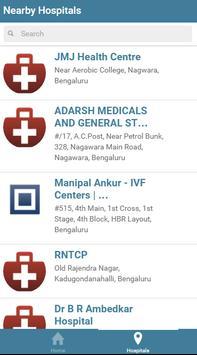 Nearby Hospitals apk screenshot