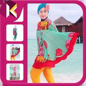 Swimsuits Hijab Dress Up icon