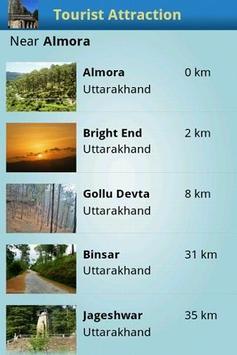 Tourist Attractions Almora apk screenshot