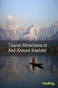 Tourist Attractions Kashmir poster