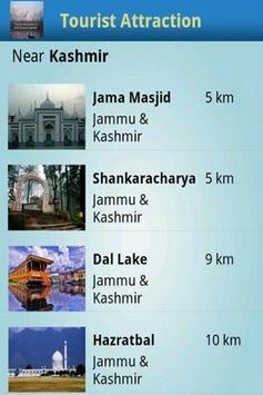 Tourist Attractions Kashmir screenshot 1
