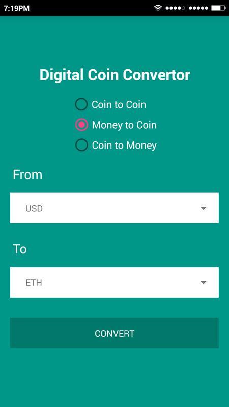 Digiconverter Digital Currency Converter Poster