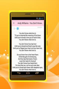 Andy Williams - Moon River apk screenshot