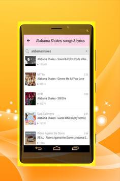Alabama Shake All Song Lyrics apk screenshot