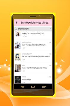 Brian McKnight - One Last Cry apk screenshot