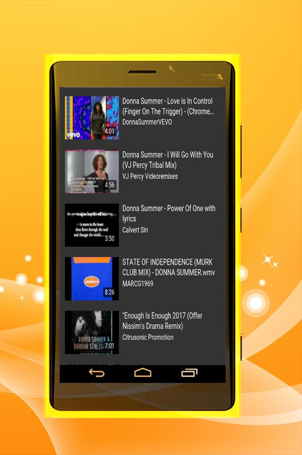 Donna Summer - I Feel Love for Android - APK Download